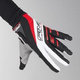 Motokrosové rukavice Five TRX Červená