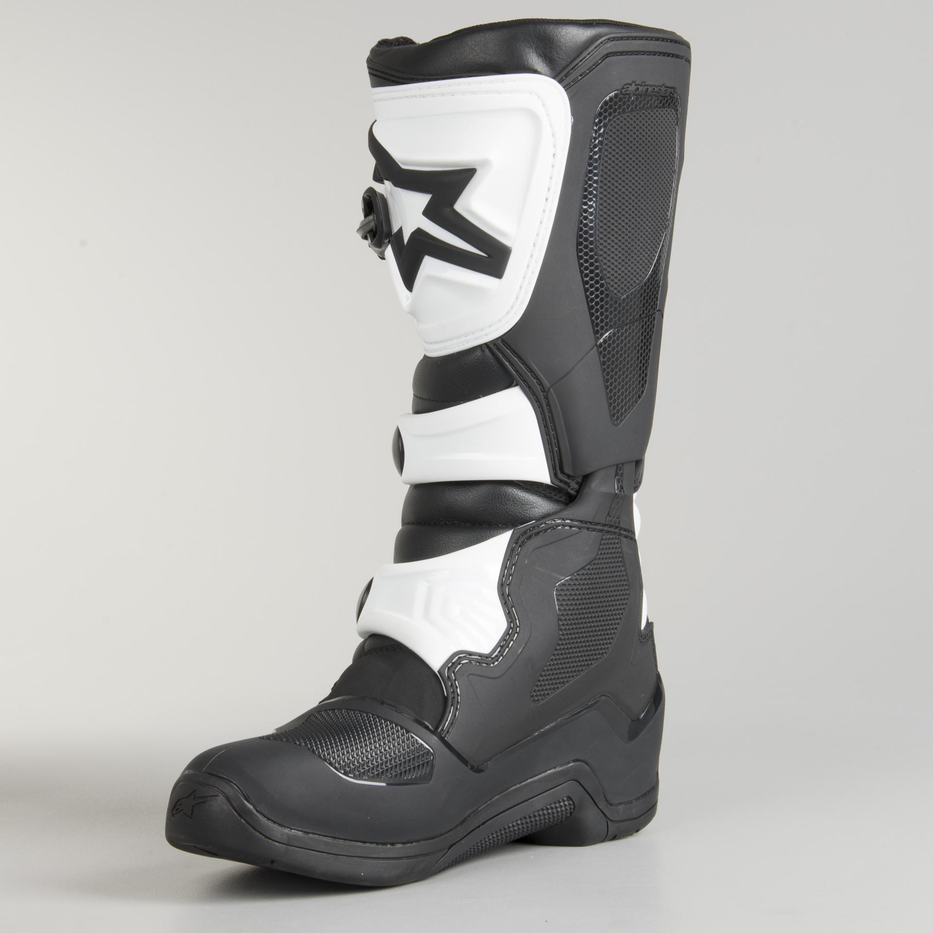 Alpinestars Tech 3 Boots Black White Now 5% Savings