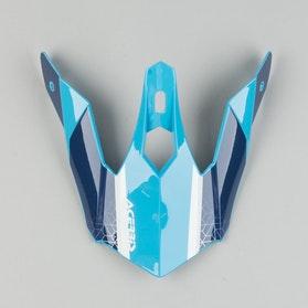 Daszek Kasku Acerbis Eclipse/Steel Niebiesko-Biały