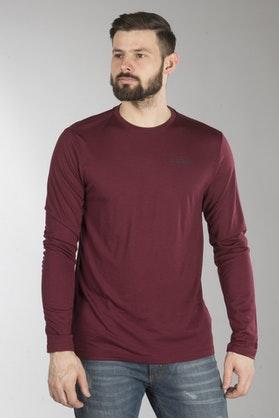 Bluza Termiczna Klim Teton Wełna Merynosowa Czerwona