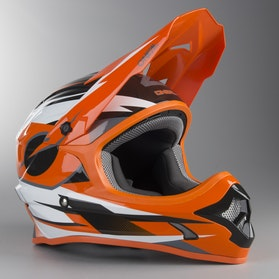 O'Neal 3-Series Orange MX Helmet Orange