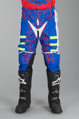 Acerbis Avenger MX Trousers Red-Blue