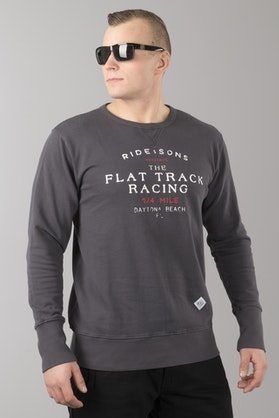Ride&Sons Flat Track Washed Shirt Black