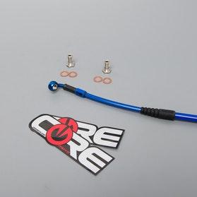 Brzdové lanko Zadní Core Moto Modré