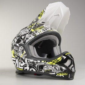 Kask Cross O'neal 3-Series Attack Czarno-HiViz