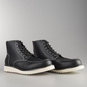 Ride&Sons Desert Moc Mid Boots Black