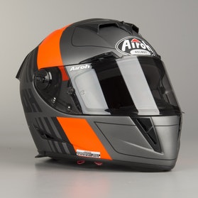 Airoh GP500 Scrape Helmet Grey-Orange