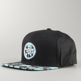 Unit Tropic Snapback Cap Blue
