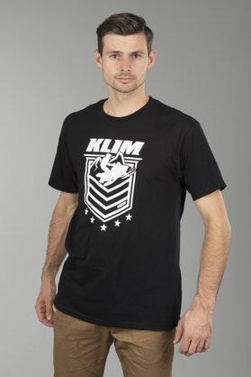 T-Shirt Klim The General Czarny