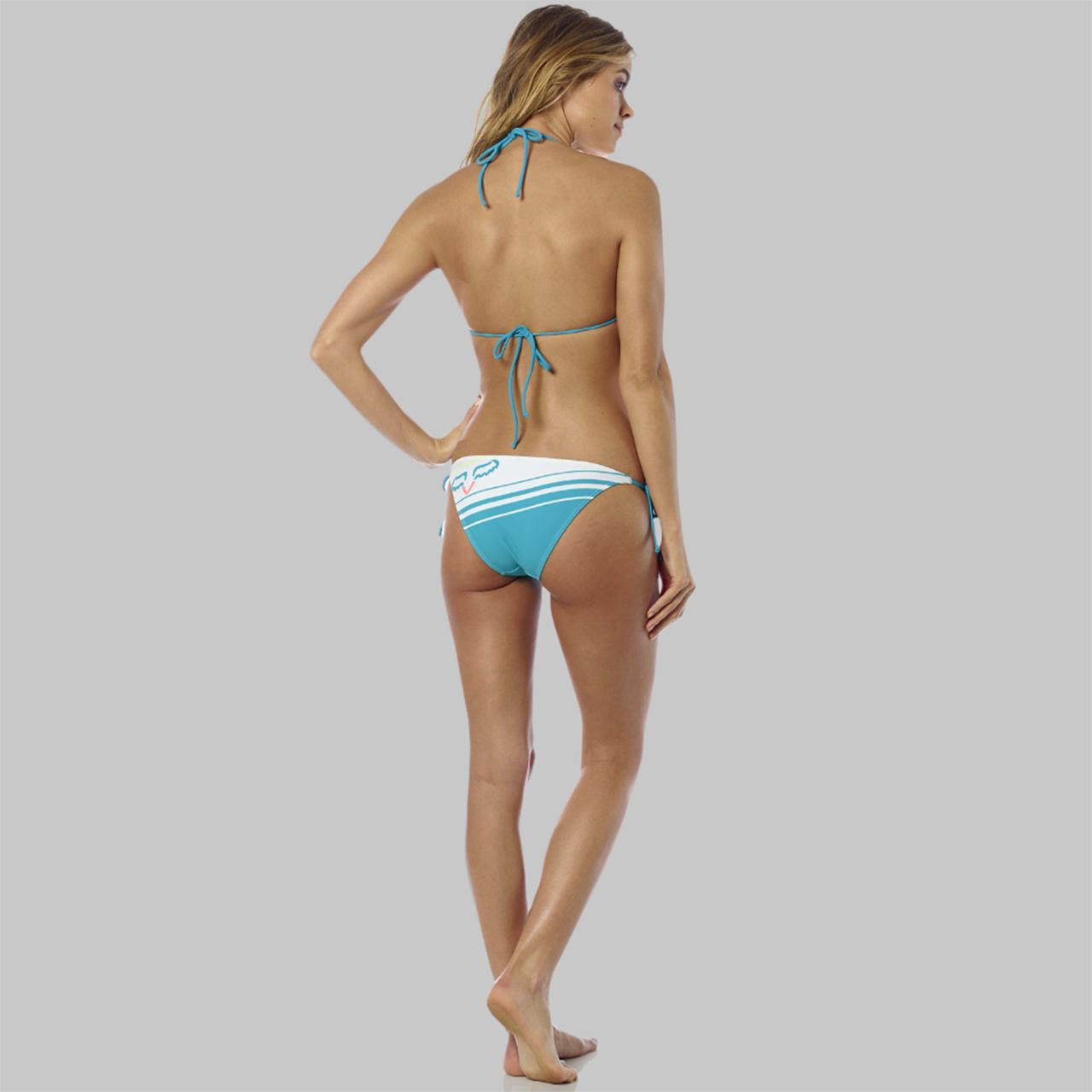 NWT large Fox Racing Creo triangle bikini top