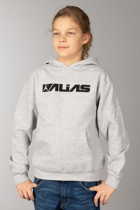 Alias Blocked Heather Youth Hoodie Grey
