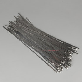 JMP 100-Pack Stainless Steel Cable Ties