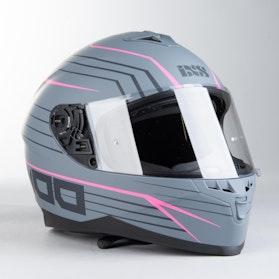 IXS 1100 2.1 Integral Helmet Matte Grey-Pink