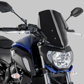 Vindskærm Puig New Generation Touring Yamaha, Sort