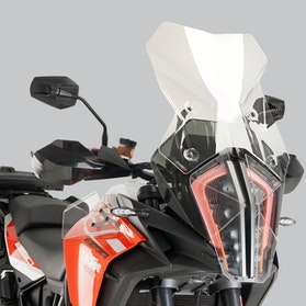 Owiewka Puig Touring KTM Przezroczysta