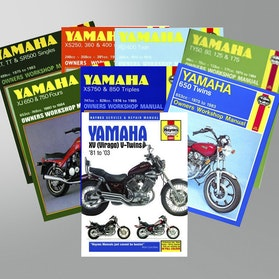 Manuál Haynes Yamaha