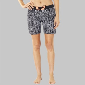 Fox Chargin Shorts Black-White Womens