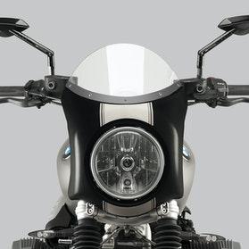 Owiewka Puig Retro BMW Semi-Fairing Przezroczysta