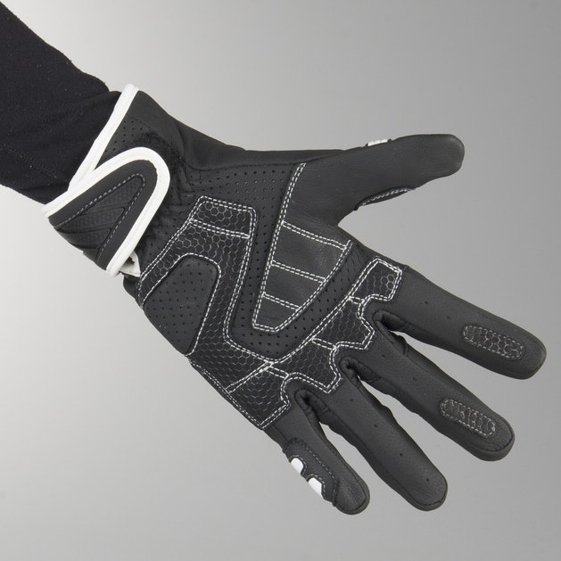 AXO Shield Gloves Black-White
