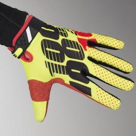 100% Ridefit Gloves Yellow-Black