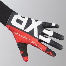 Rękawice Cross FXR Slip On Lite Czarno-Czerwono-Białe