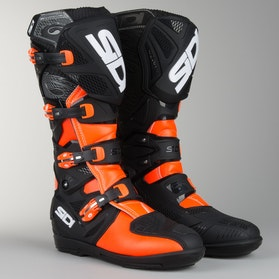 Cross støvler Sidi X-Treme SRS Orange-Fluo-Sort