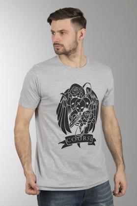 Koszulka Course Hush Szara