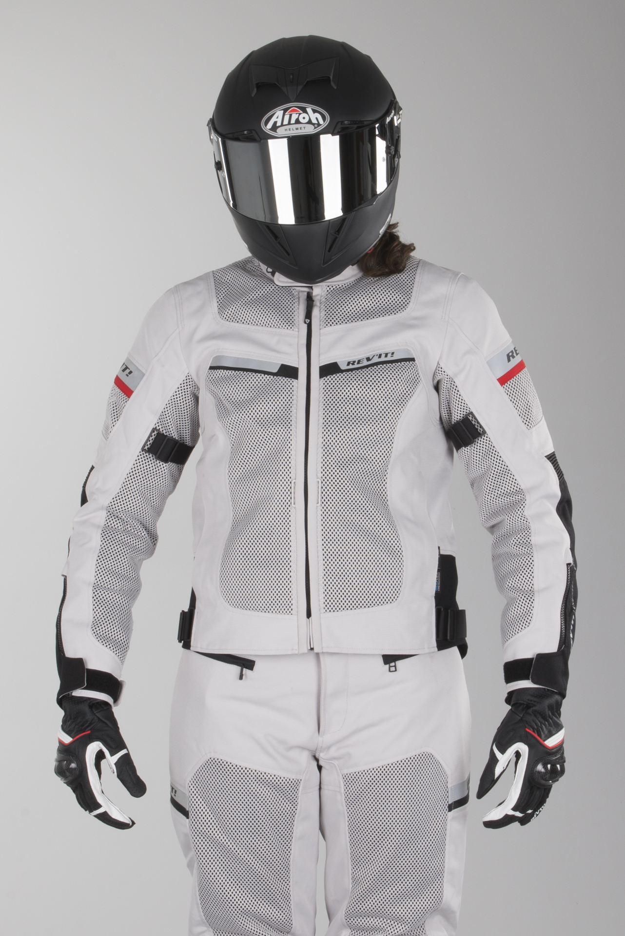 Sølv biker jakke | NAME IT