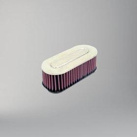 Filtr powietrza Owalny Jednostronny Chrom K&N Universal