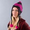 FXR Mischief Hat Black-Charcoal-Pink