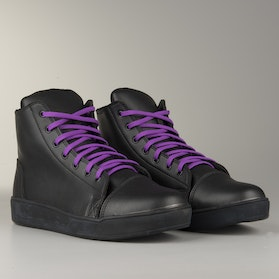 Course MX Sneakers  Black with Purple Laces