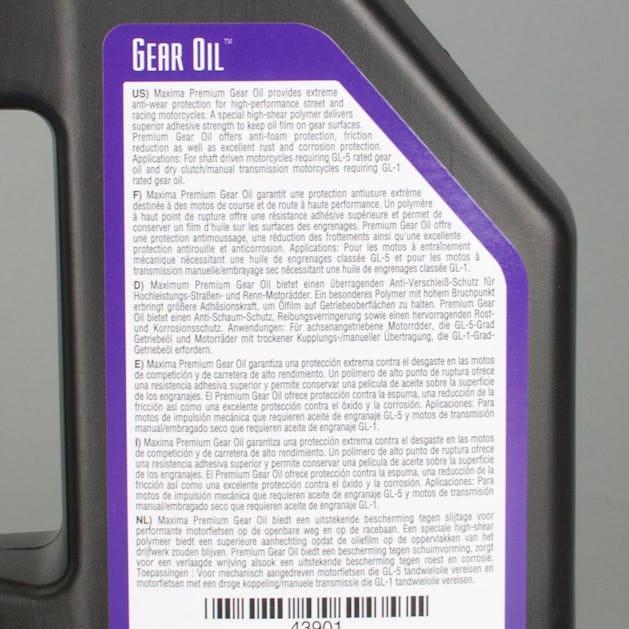 Olej przekładniowy Maxima Premium Hypoid 80W90 1L