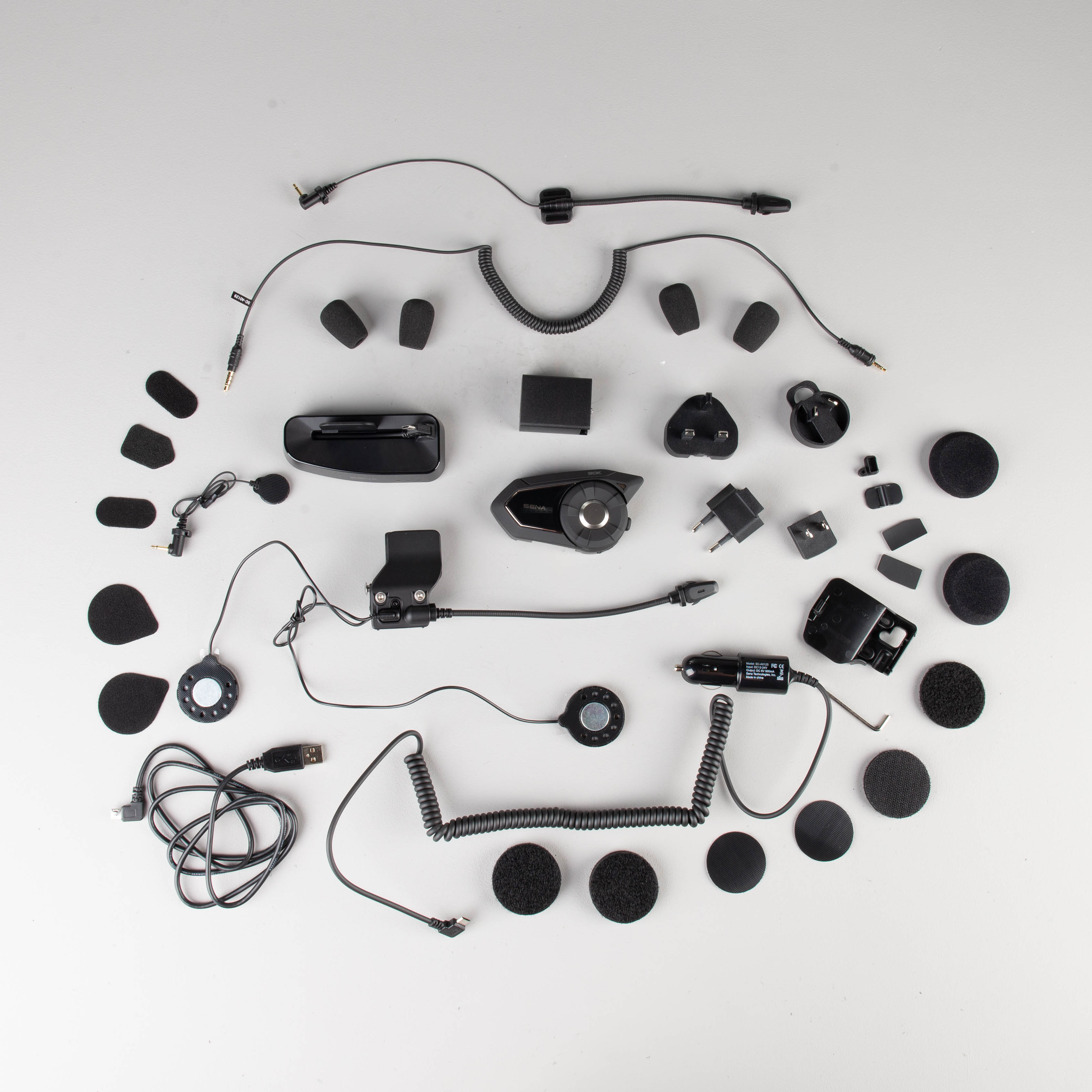 Sena 30K with Mesh Intercom WiFi Pack Communication System Helmet Accessories