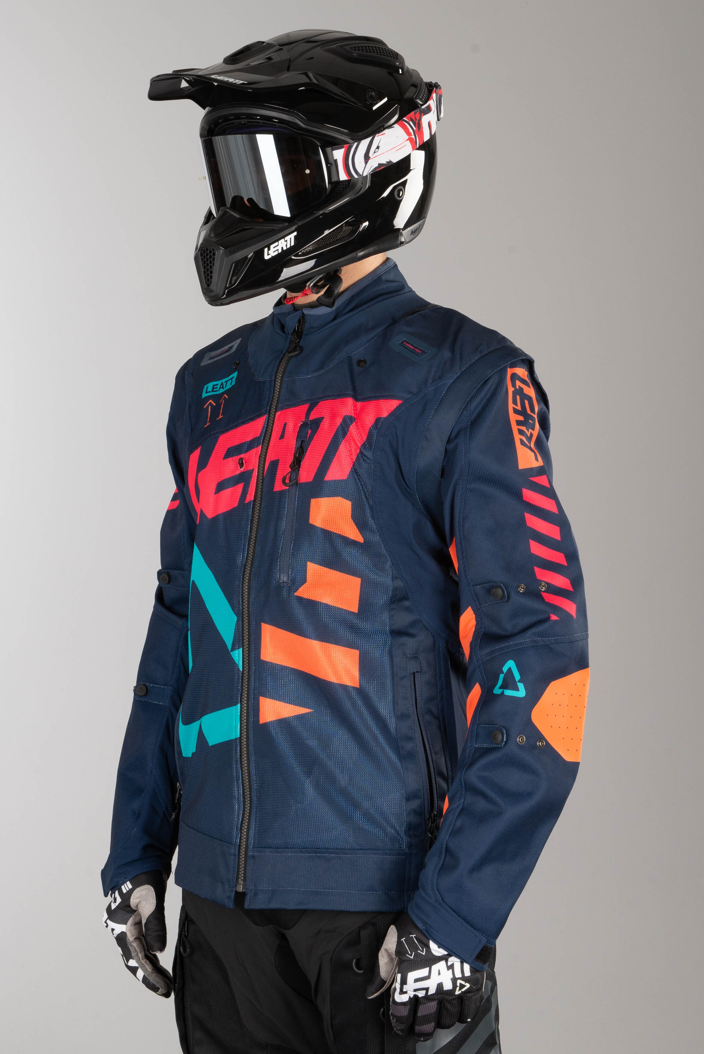 Leatt Jersey GPX 4.5 X-Flow Ink//Orange