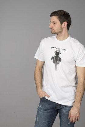 T-Shirt Alpinestars Boxed Tee Biały