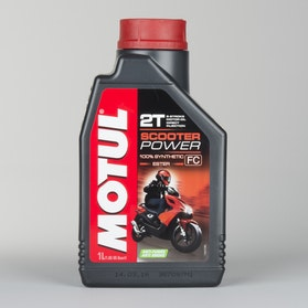 Motul Scooter Power 2T 1L Oil Fully synthetic