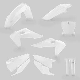 Komplet Plastików Acerbis Biały