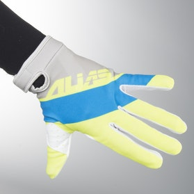 Alias Aka Lite Floated MX Gloves Cyan-Chartreuse