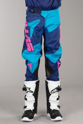 Alias A1 Bars MX Pants NavyBlue-Cyan