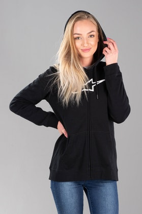 Alpinestars Ageless Women's Hoodie Black-White