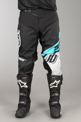 Shot Husqvarna MX Pants Blue-Grey