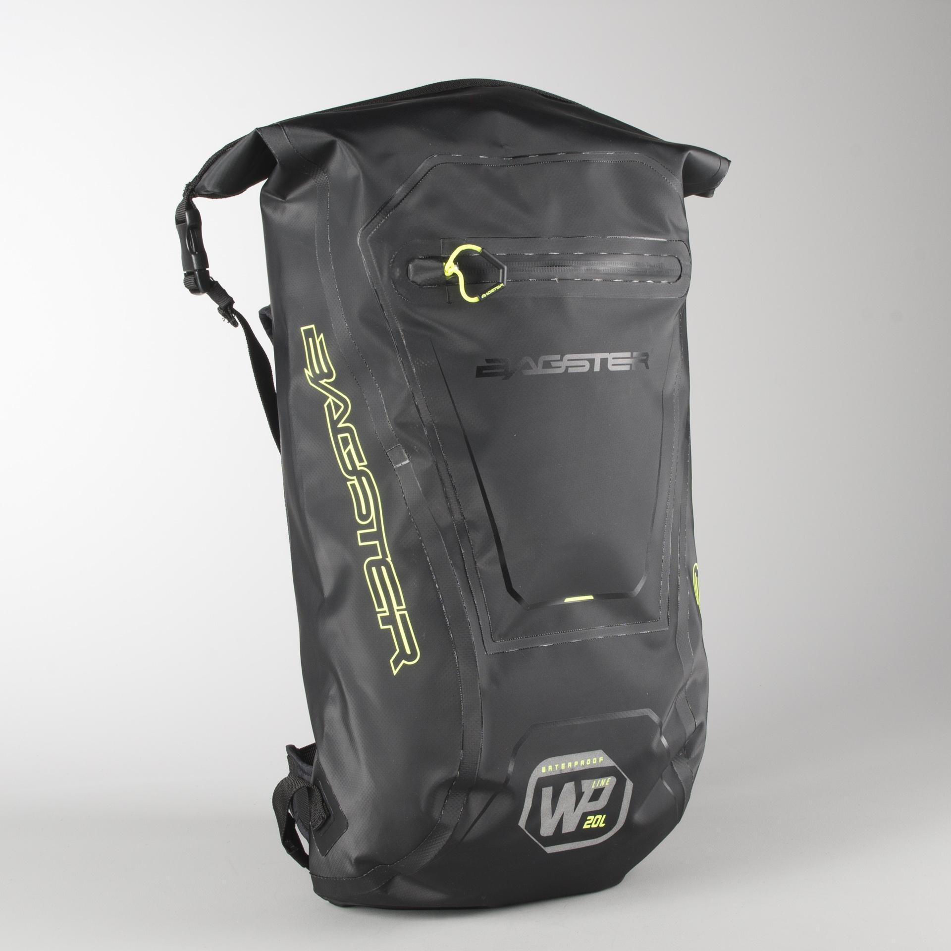 Bagster WP20 Backpack Black Grey Now 7% Savings XLmoto.eu