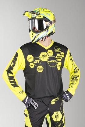 Bluza Cross JT Racing Flo Tec-DNA BGNYL