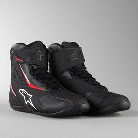 Alpinestars Fastback-2 MC Sneakers Black-Red
