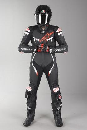 Alpinestars GP Pro V2 Tech-Air Leather Suit Black-White