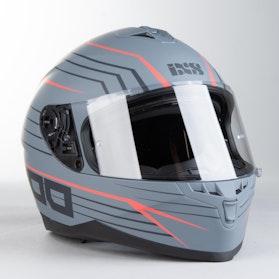 IXS 1100 2.1 Integral Helmet Matte Grey-Red