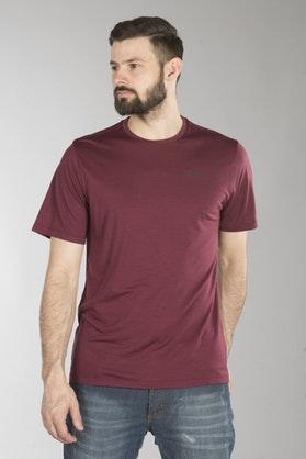 T-Shirt Klim Teton Merino Wool, Rød