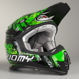 Kask Cross Suomy Mr Jump Maori Zielony
