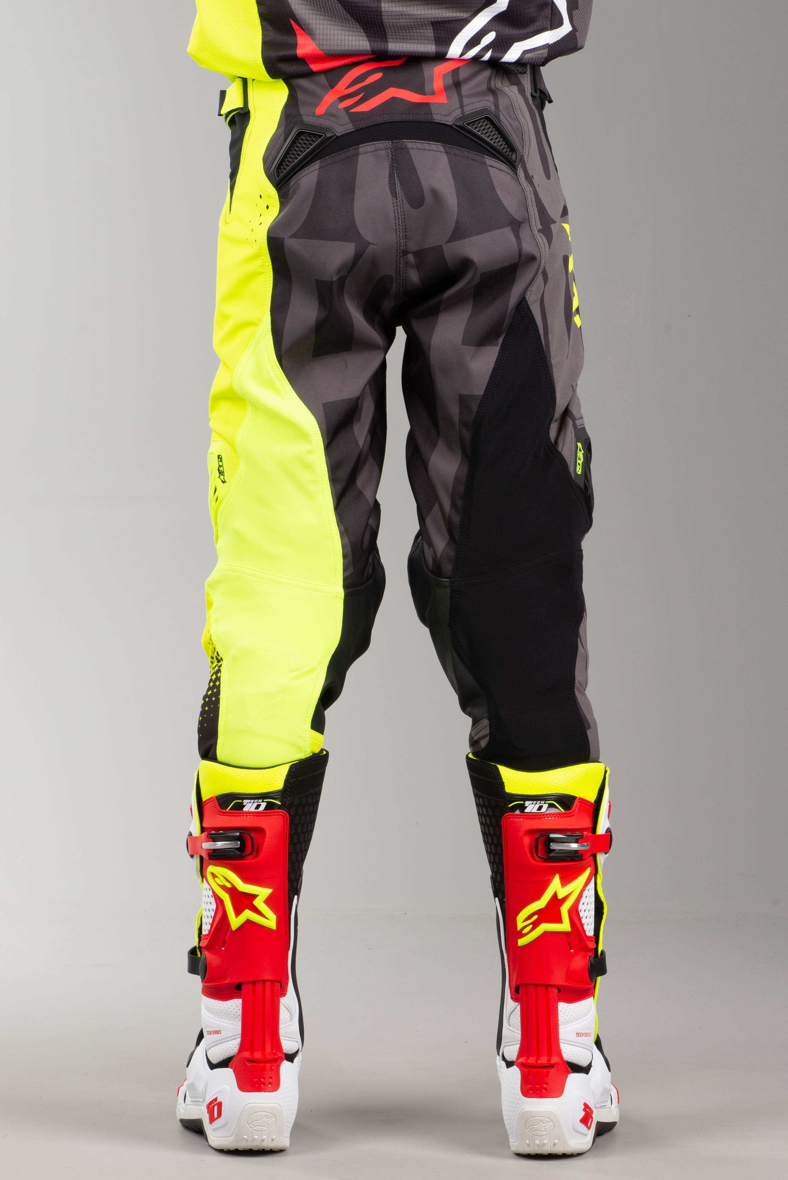 O'Neal Element Impact MX broek zwart neon geel Nu 36
