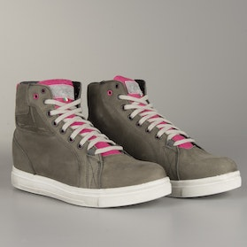 TCX Street Ace Womens MC-Boots - Grey-Pink
